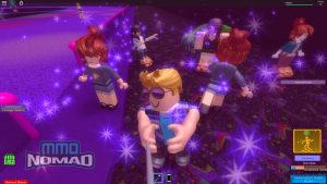 ROBLOX Party at the Skating Rink